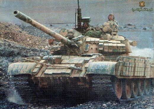 Танки. Сирия: Т-55, Т-62, Т-72 и Т-90 в огне жестоких боев