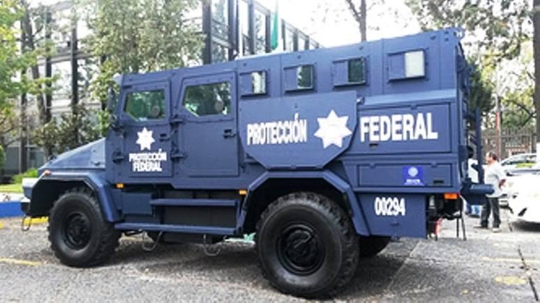 Mexikanischer Geheimdienst erhielt russischen Panzerwagen