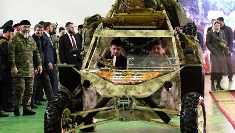 Um novo modelo do 3-buggy local é apresentado na Chechênia.