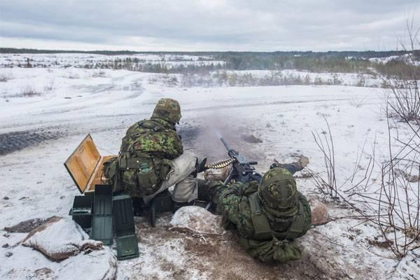 ВЭстонию прибудут 1200 военнослужащих НАТО