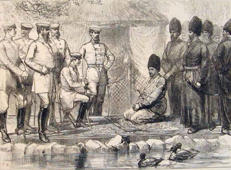 Turkestan frontera del imperio ruso