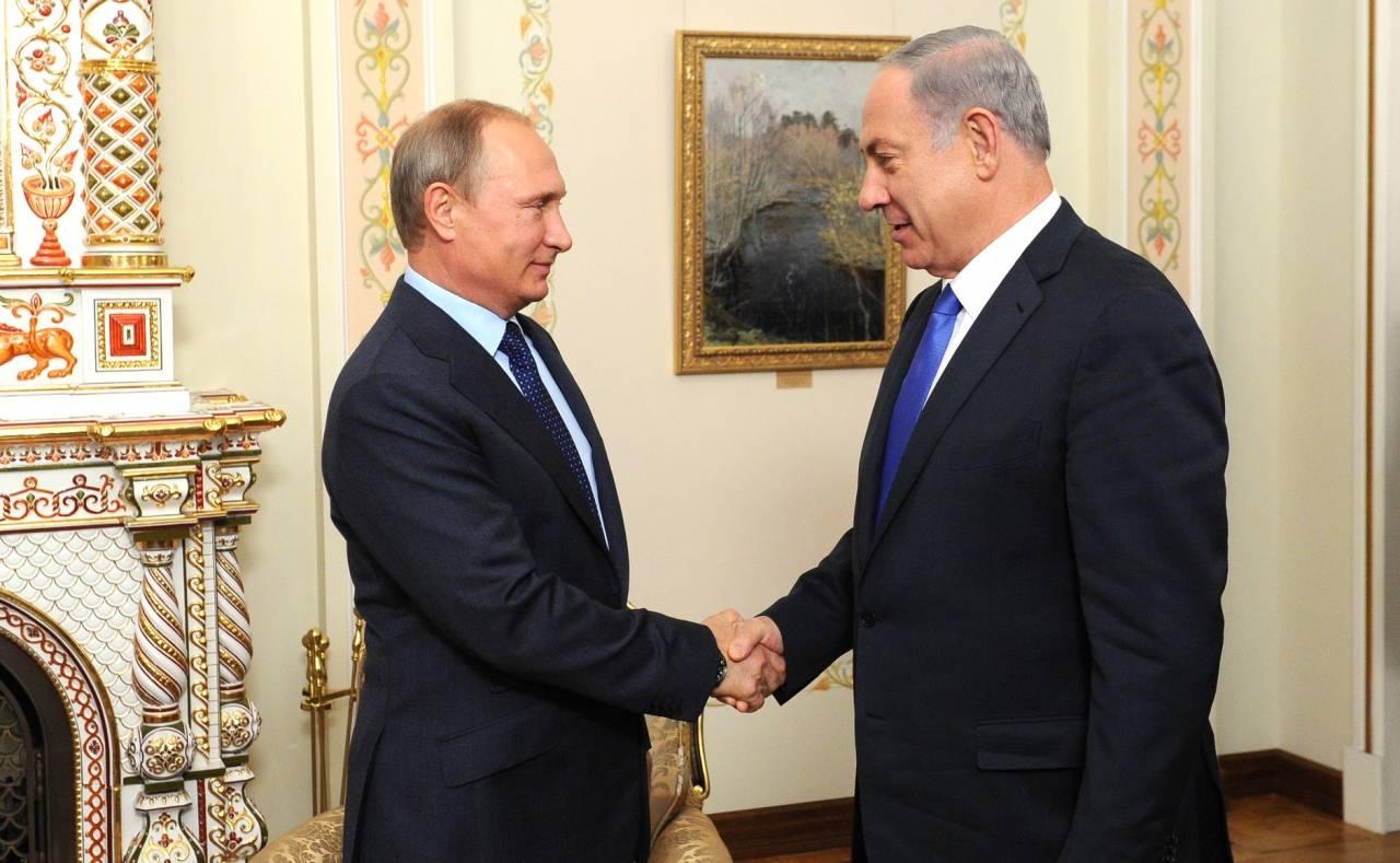 Путин встретится спремьером Израиля Нетаньяху в столице 9марта