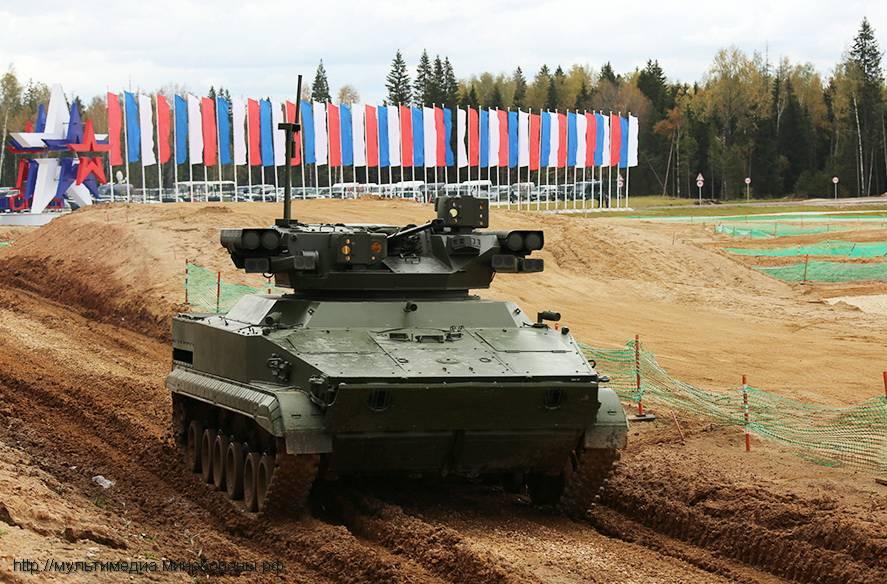 На пленуме «Армия» вподмосковном парке «Патриот» покажут новых роботов
