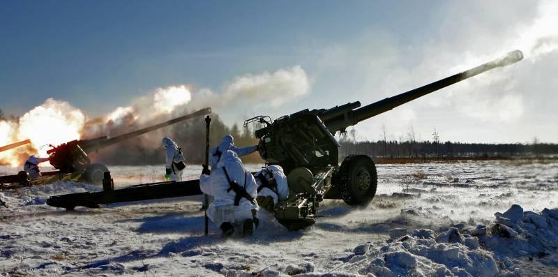 """El equipo de artillería 120-I cambió completamente al obús actualizado """"Msta-B"""""""