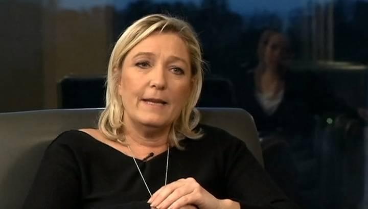 Marine Le Pen: Ich glaube nicht an die russische Bedrohung