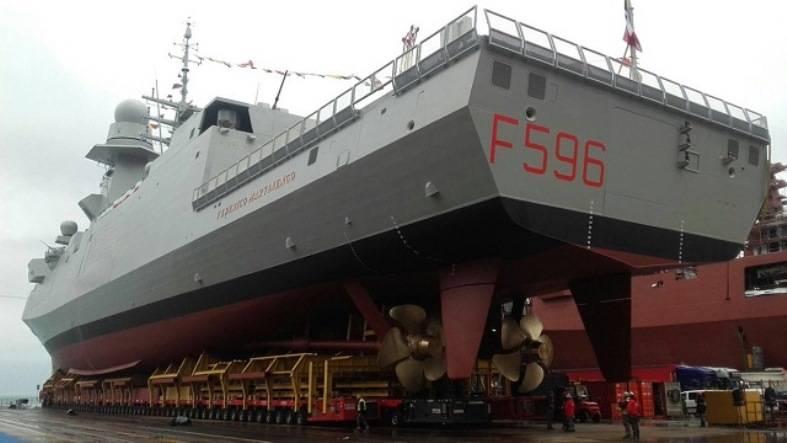 ВМС Италии получили седьмой фрегат FREMM