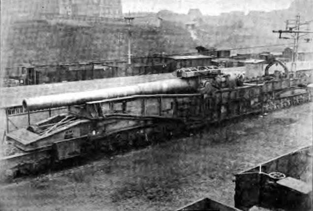 Железнодорожное орудие 38 cm SK L/45 Max (Германия)