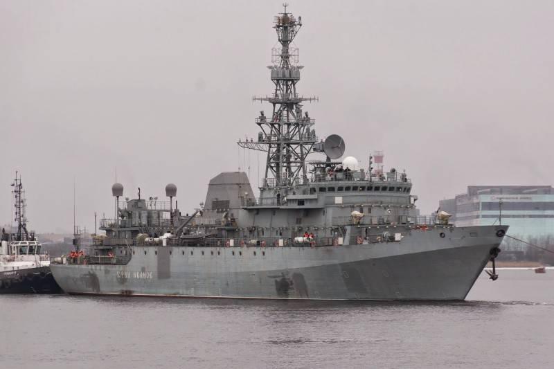 Разведывательный корабль «Иван Хурс» будет спущен на воду в апреле 2017 года