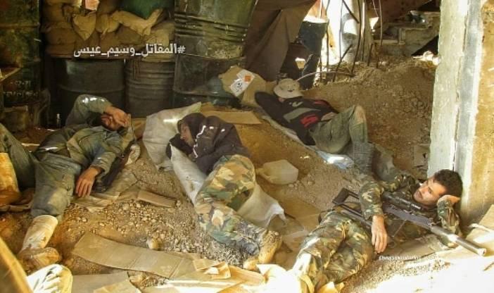 В Сирии вновь замечен российский снайперский комплекс ВСК-94