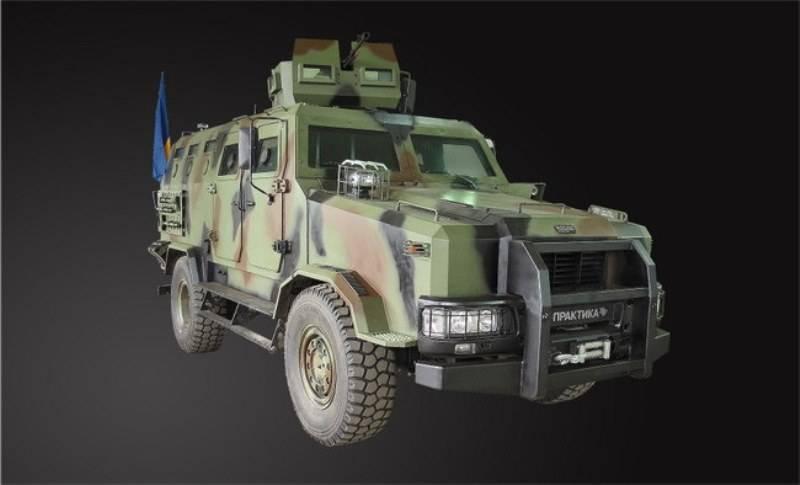 На Украине проходят испытания модернизированные бронеавтомобили «Казак-2»