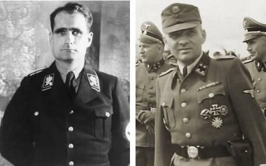 Нацистские преступники Рудольф Гесс и Рудольф Гёсс. Путаница в российских СМИ