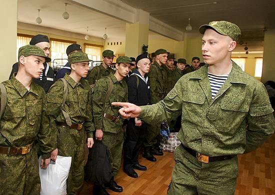 МО РФ готовится к введению изменений в Положение о призыве на военную службу