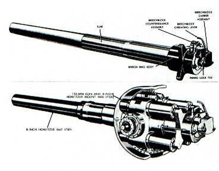 Montura de artillería autopropulsada M55 SPH (USA)