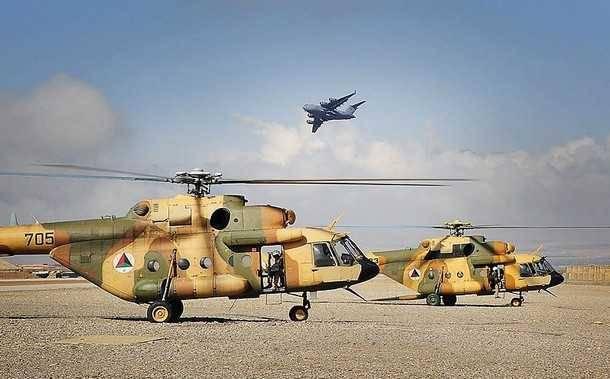 США собираются заменить Ми-17 в Афганистане собственными вертолетами