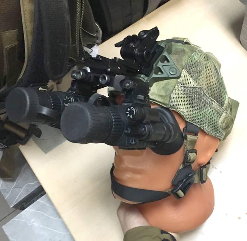 """Chapéus """"inteligentes"""" para forças especiais"""