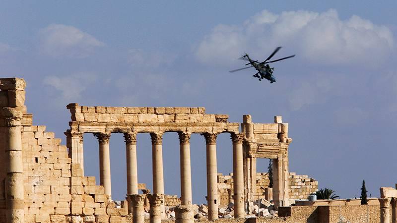 Wie befreit die alte syrische Stadt