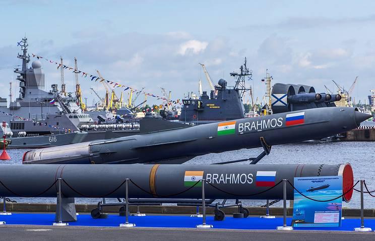 """In Indien erprobte Rakete """"BrahMos"""" erweiterte Reichweite"""