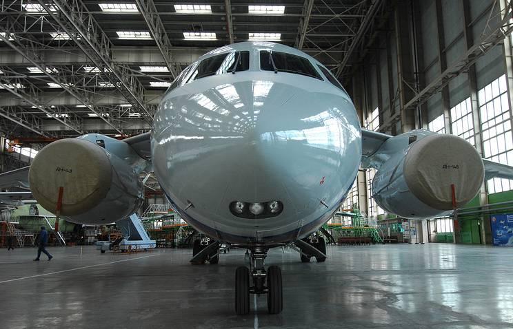 В этом году ВКС получат три ближнемагистральных Ан-148