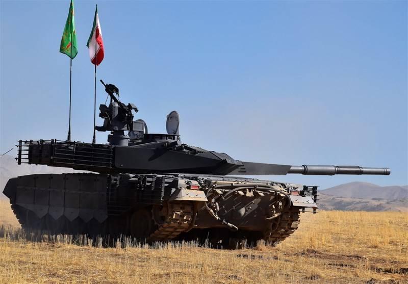 Produção em massa de novos tanques começou no Irã