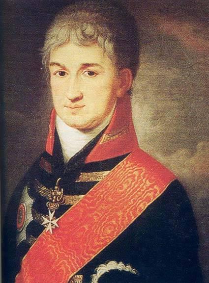 Russischer Diplomat und Reisender Nikolai Petrovich Rezanov