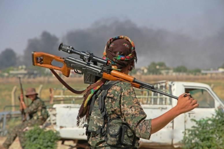 Los kurdos prometieron asistencia política a cambio de Raqqa.