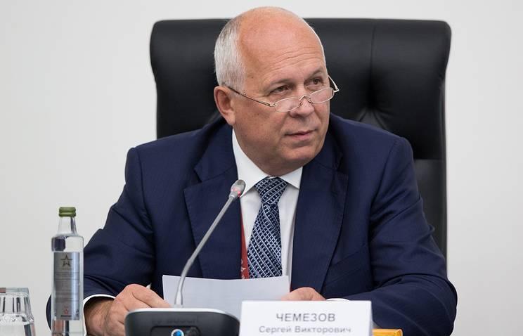 Чемезов: американцам придется отменить санкции против «Рособоронэкспорта» из-за ремонта Ми-17