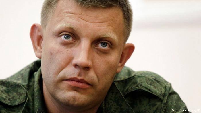 Захарченко преобразовал линию соприкосновения в Государственную границу