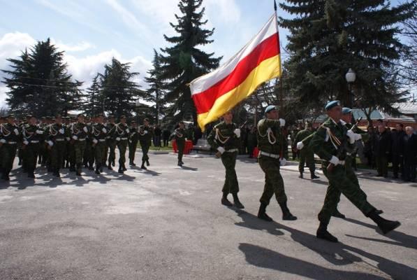 Отдельные подразделения армии Южной Осетии войдут в состав ВС РФ