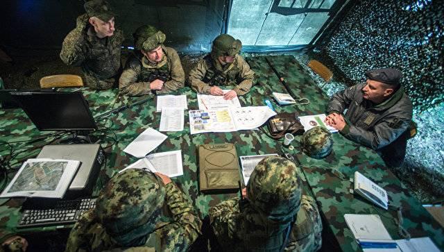 В Беларуси началась совместная с российскими военными штабная тренировка