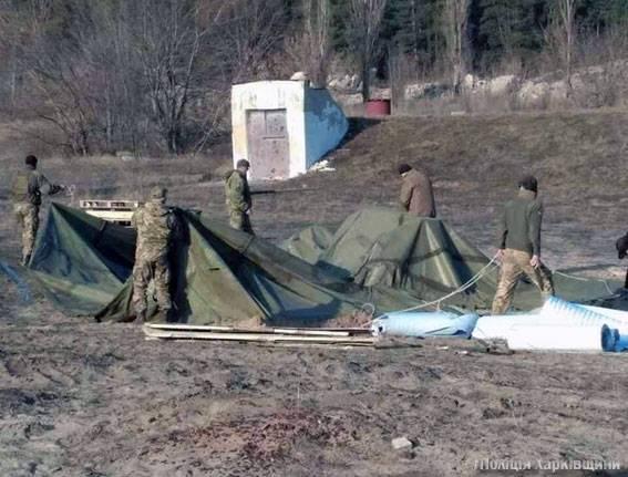 Os radicais não foram autorizados a bloquear a comunicação ferroviária com a Rússia na região de Kharkiv