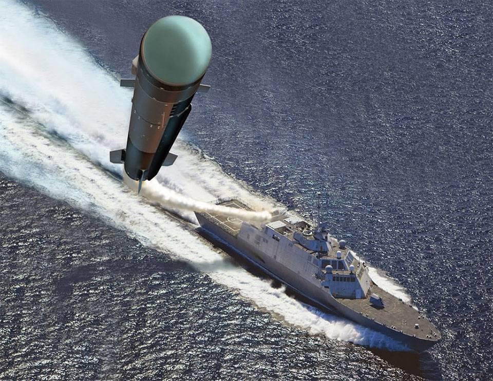 Военные ВМС США показали запуск ракет «Адское пламя»