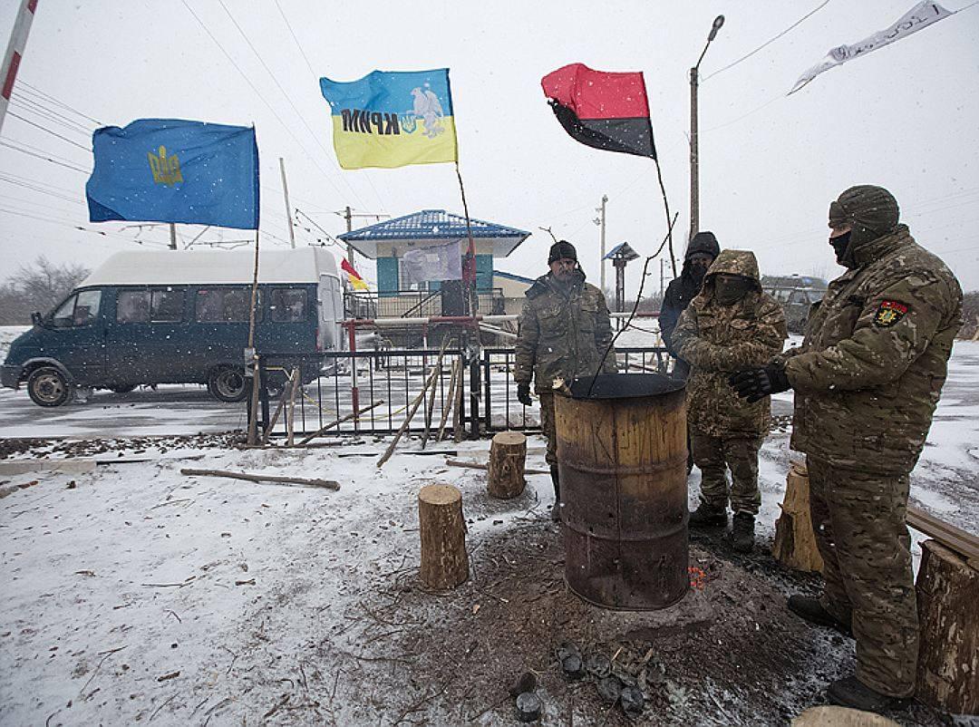 Блокада Донбасса: СБУ иКОРД разогнали редут штаба блокады вКривом Торце