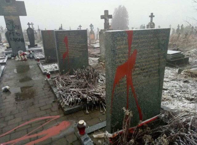Gerashchenko: mercenários de Moscou profanaram os túmulos dos poloneses na Ucrânia