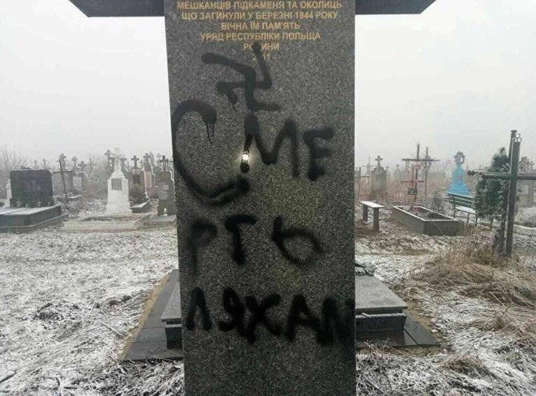 Геращенко объявил, что украинцы осквернили могилы под Львовом поуказанию столицы