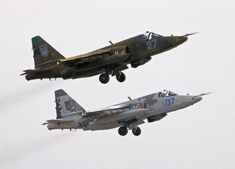 Украинские пилоты штурмовиков учатся сбивать российские истребители