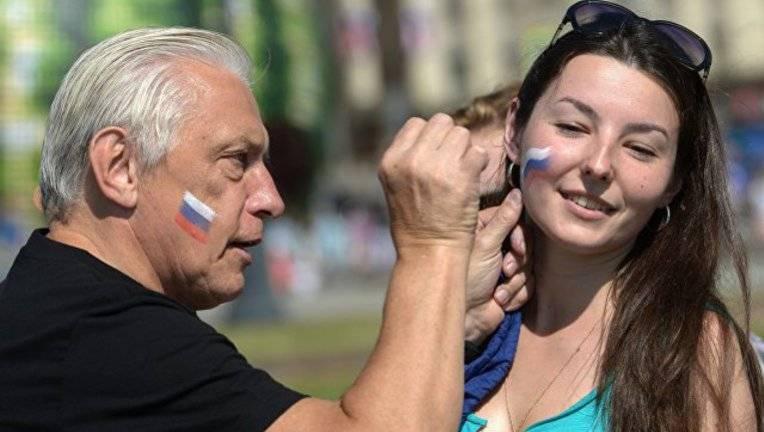 Umfrage: Fast 80% der russischen Bürger betrachten sich als Patrioten