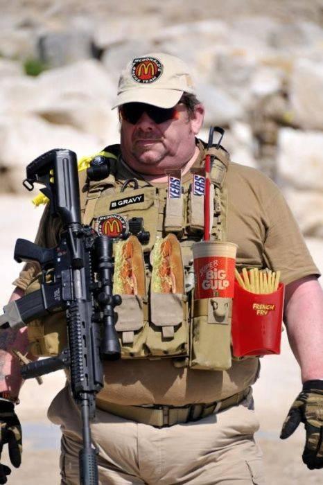 Американских военных лишают фастфуда