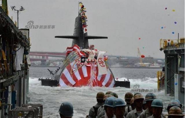 ВМФ Японии передана восьмая субмарина типа Souryu