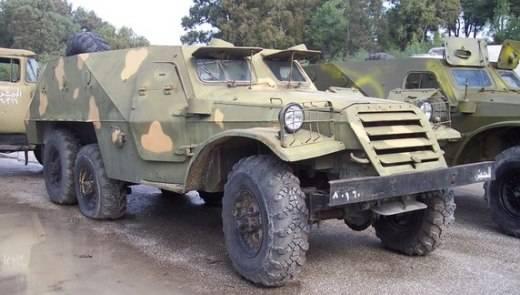 БТР-152 сирийской армии