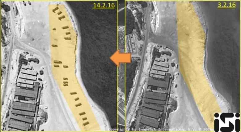 Китай возобновил строительство на спорных островах
