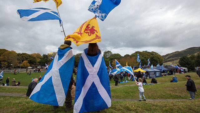 Опрос: возросла доля сторонников независимости Шотландии