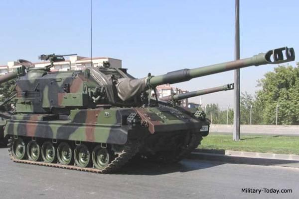 M52T Selbstfahrende Artillerie (USA / Türkei / Deutschland)