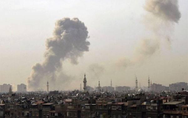 I terroristi hanno attaccato il Palazzo di Giustizia a Damasco