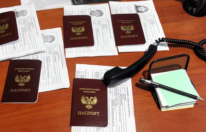 Ucrânia exigiu que a Rússia desreconheça passaportes LDNR