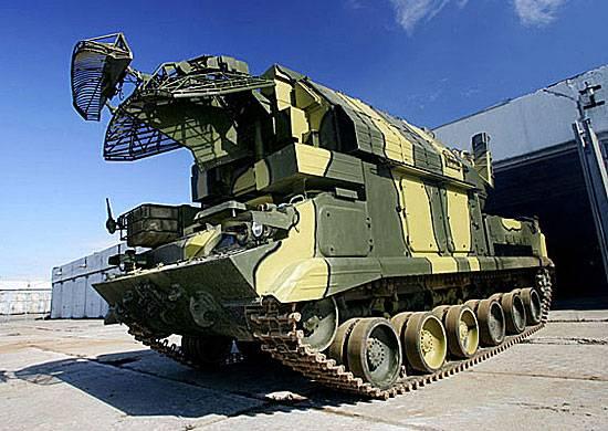 ЗРС Тор-М2У поступили на вооружение 1-ой гвардейской танковой армии