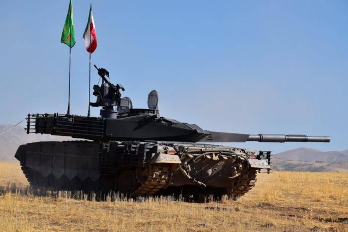 """Возможности противотанковых ракет иранского танка """"Karrar"""""""