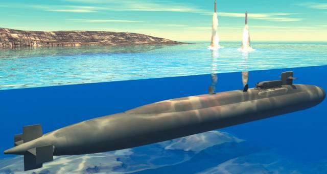 Submarino de Retaliação Desenvolvido nos EUA