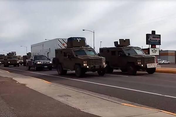 Degradação do sistema de transporte de armas nucleares dos EUA