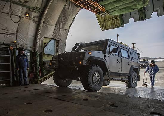 Palmyra'nın çıkarılması için MPTS RF Silahlı Kuvvetleri'nin konsolide edilmesi geldi