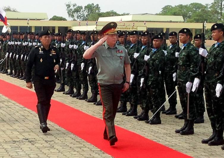 В военных вузах РФ могут появиться слушатели из Таиланда